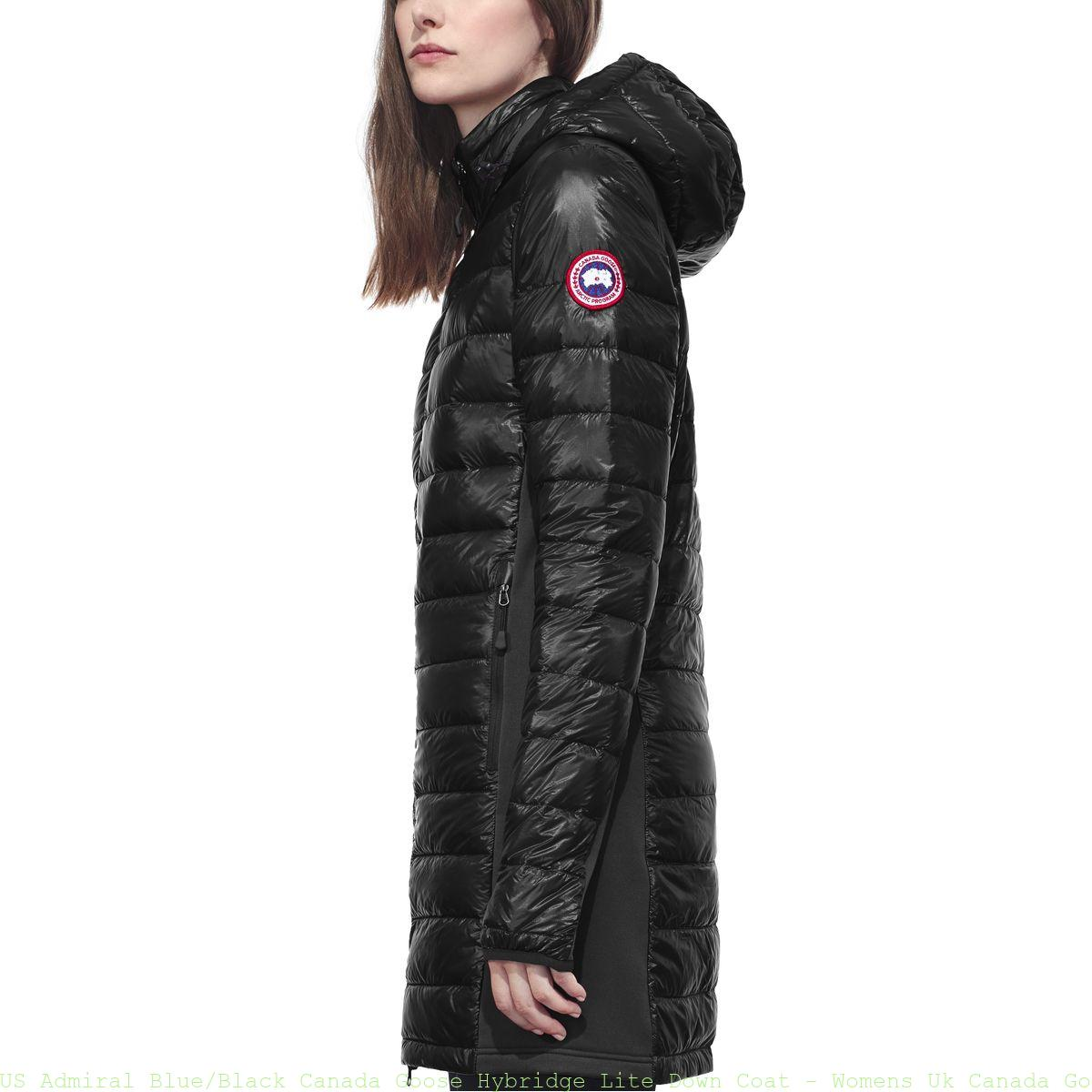 c8b1e27f495 US Admiral Blue/Black Canada Goose Hybridge Lite Down Coat – Womens ...